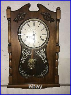 Superb Vintage Ansonia Wall Clock withWestminster Chime-GREAT! Keeps exact time