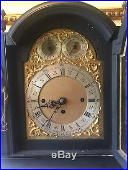 TIFFANY & Co westminster chimes 8 bells new york Antique Table Clock England