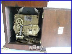 Triple Chime Carillon 4/4 Westminster Mantle Bracket Clock Moonphase Warmink