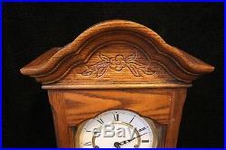 TRIPLE CHIME Howard Miller Wall Clock Westminster St. Michels Whittington Chimes