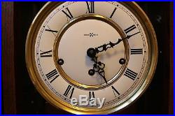 TRIPLE CHIME Howard Miller Wall Clock Westminster St. Michels Whittington Chimes
