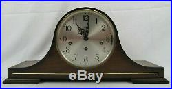 TRIPLE CHIME mantel clock LINDEN 8-day WESTMINSTER & St. Michaels & Whittington