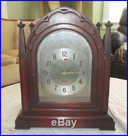 TWO CHIME Telechron Herschede REVERE Westminster Canterbury Chime Clock R430