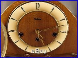 Telep FHS Franz Hermle & Sohn 340-020 Westminster Chime Mantel Clock Germany 198
