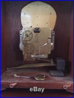 Tempus Fugit Emperor Clock Westminster Chime Key wind 341-020 mechanical