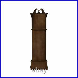 Traditional Grandfather Westminster Clock With Chime Golden Brown