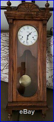 Trend by Sligh Westminster Chime Wall Clock with Franz Hermle Movement