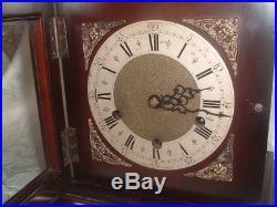 UNUSUAL & FINE GEORGIAN STYLE Westminster Chime BRACKET / MANTEL CLOCK