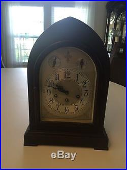 UPDATE SETH THOMAS GRAND WESTMINSTER CHIME CLOCK MAHOGANY withultra rare 113A