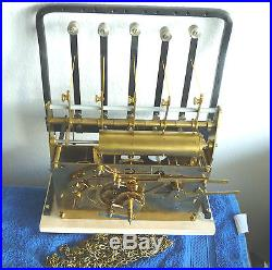 Urgos 5 Tube Westminster Chime Grandfather Clock Movement