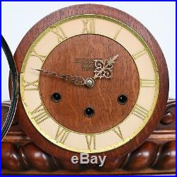 VEDETTE Mantel Clock WESTMINSTER Chime 29.7 Inch HIGH GLOSS Vintage French LARGE