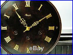 Very Big Beautiful Art Deco Westminster Kienzle Chiming Mantel Clock