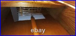 VINTAGE-Howard Miller Clock Westminster Chime Wall/Mantel 613-108 WithKey Wks Grt