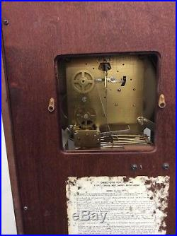 VTG Seth Thomas Mantle Clock With Key A403-001 Westminster Chime 2 jewels legacy