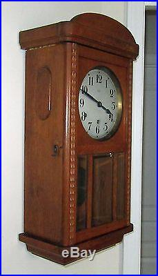 Vedette Westminster Chime 8 Day Regulator Wall Clock