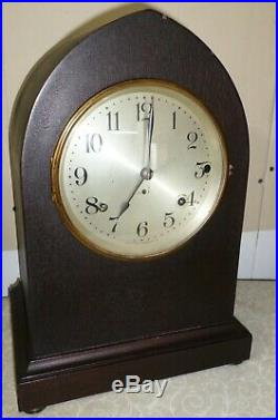 Very Nice Antique Seth Thomas USA Westminster Sonora Chime Mantel Parlor Clock