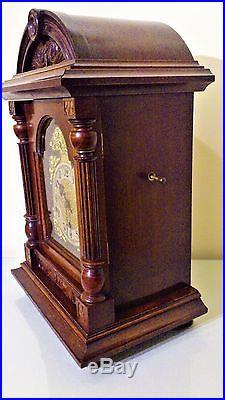 Victorian Design German Oak Cased Westminster Chimes Bracket / Mantel Clock