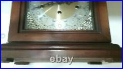 Vint Howard Miller 1050-020 Triple Chime Mantel Clock Mod 612-429 Samuel Watson