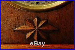 Vintage 1930` DUFA Mantel Clock Westminster Chime Superb Chime