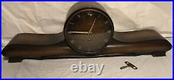 Vintage 1950s Mauthe Germany Westminster Chime Mantel Shelf Clock (Runs Strong)