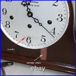 Vintage 1971 Seth Thomas Westminster Chime Mantle Clock