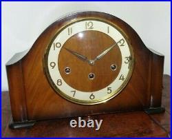Vintage 60's Bentima 8 Day Whittington Westminster St Michael Chime Mantel Clock