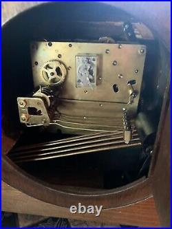 Vintage ANKERUHR westminster CHIME ART DECO mantle clock