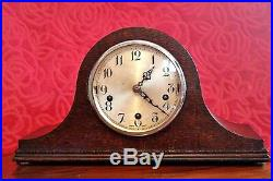Vintage Art Deco'Enfield' Mantel Clock with Westminster & Whittington Chimes