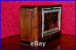 Vintage Art Deco German'Foreign' Mantel Clock with Westminster Chimes