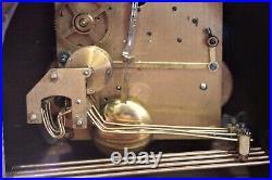 Vintage Art Deco German'HAC' Mantel Clock with Westminster Chimes