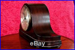 Vintage Art Deco German'WURTTEMBERG-HAC' Mantel Clock with Westminster Chimes