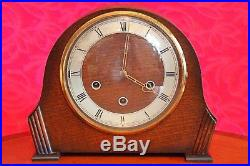 Vintage Art Deco'Smiths' 8-Day Mantel Clock with Westminster Chimes