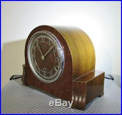 Vintage Bentima three train Westminster Chimes Mantel clock