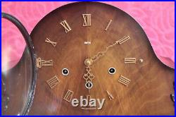 Vintage British'Smiths' 8-Day Floating Balance Clock with Westminster Chimes