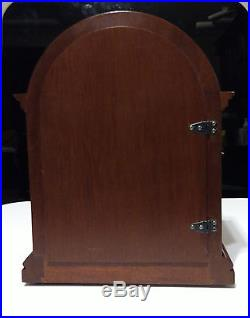 Vintage Bulova Barrister Windup Clock Westminster Chime Good Cond. Circa 1970s