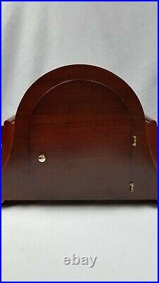 Vintage Bulova Hermle Movement Mantel Clock Westminster & Ave Maria Chimes