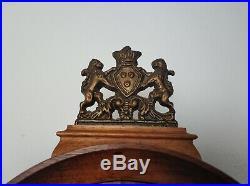 Vintage Dutch Tempus Fugit (Telma) Tail Wall Clock Westminster Chime Clock