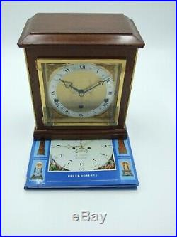 Vintage Elliott 8 Day Mantle Clock With Westminster and Whittington Chimes