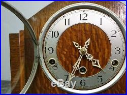 Vintage Enfield Retro Style 8 Day Westminster Chiming Mantle Clock