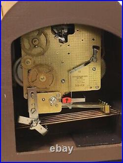 Vintage Estate Linden Westminster Chime 8 Day Wind Mantel Clock West Germany