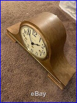 Vintage Franz Hermle Mantle Westminster Chime Clock 340-020A