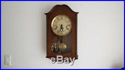 Vintage German Decor Wall Clock with Westminster Chime