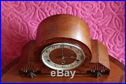 Vintage German'Haller' Mantel Clock with Westminster & Whittington Chimes