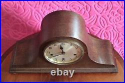 Vintage German Mantel Clock with Westminster Chimes