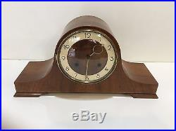 Vintage Germany Style King Mantel Clock, Westminster Chimes, Cuckoo Clock Mfg