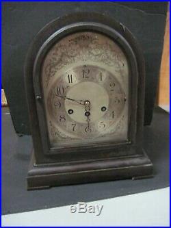 Vintage Hershede Mantle Clock With Westminster Chimes
