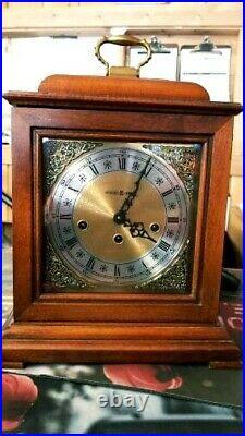 Vintage Howard Miller 340 020A model 613-182 Mantel Clock key Westminster Chime