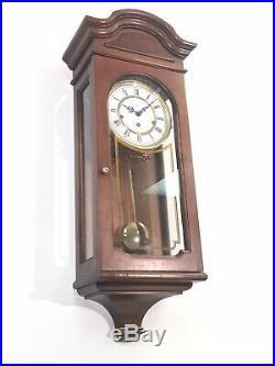 Vintage Howard Miller 612-581 Westminster Triple Chime Large Wall Clock WORKS