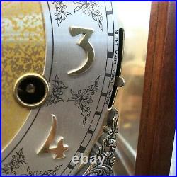 Vintage Howard Miller Triple Chime Mantel Clock Model 612-429, 2 Jewels, Germany