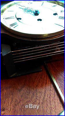 Vintage Howard Miller Westminster Chime Wall Clock 613 227